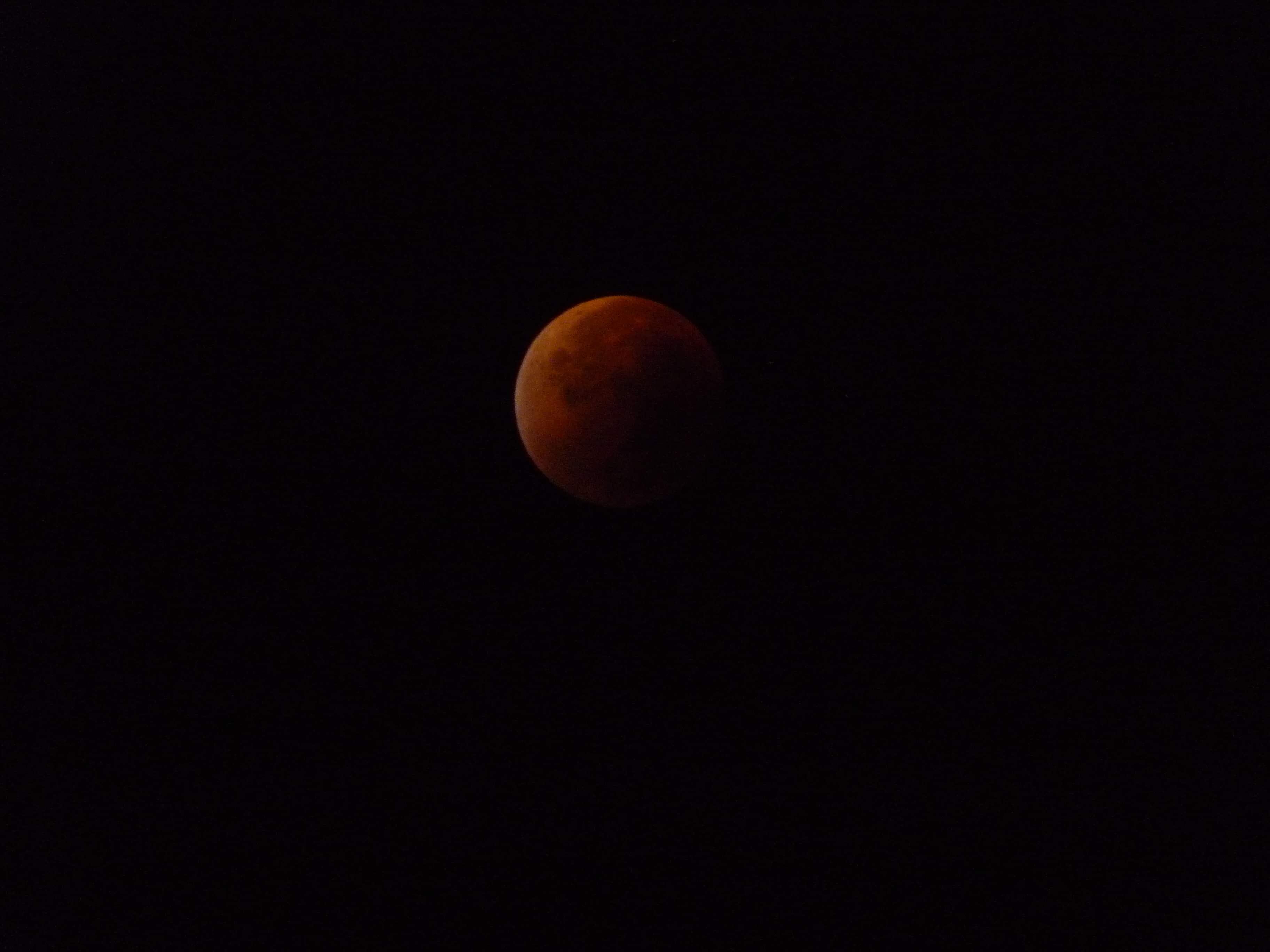 Eclipse en el máximo