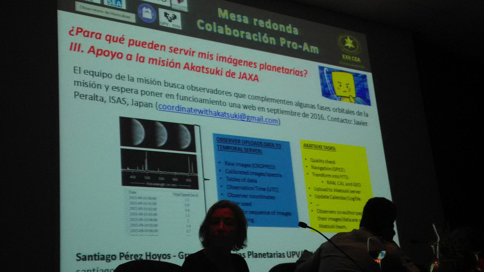 ¿Para qué pueden servir las imágenes planetarias? Éste fue uno de los temas de la mesa redonda.