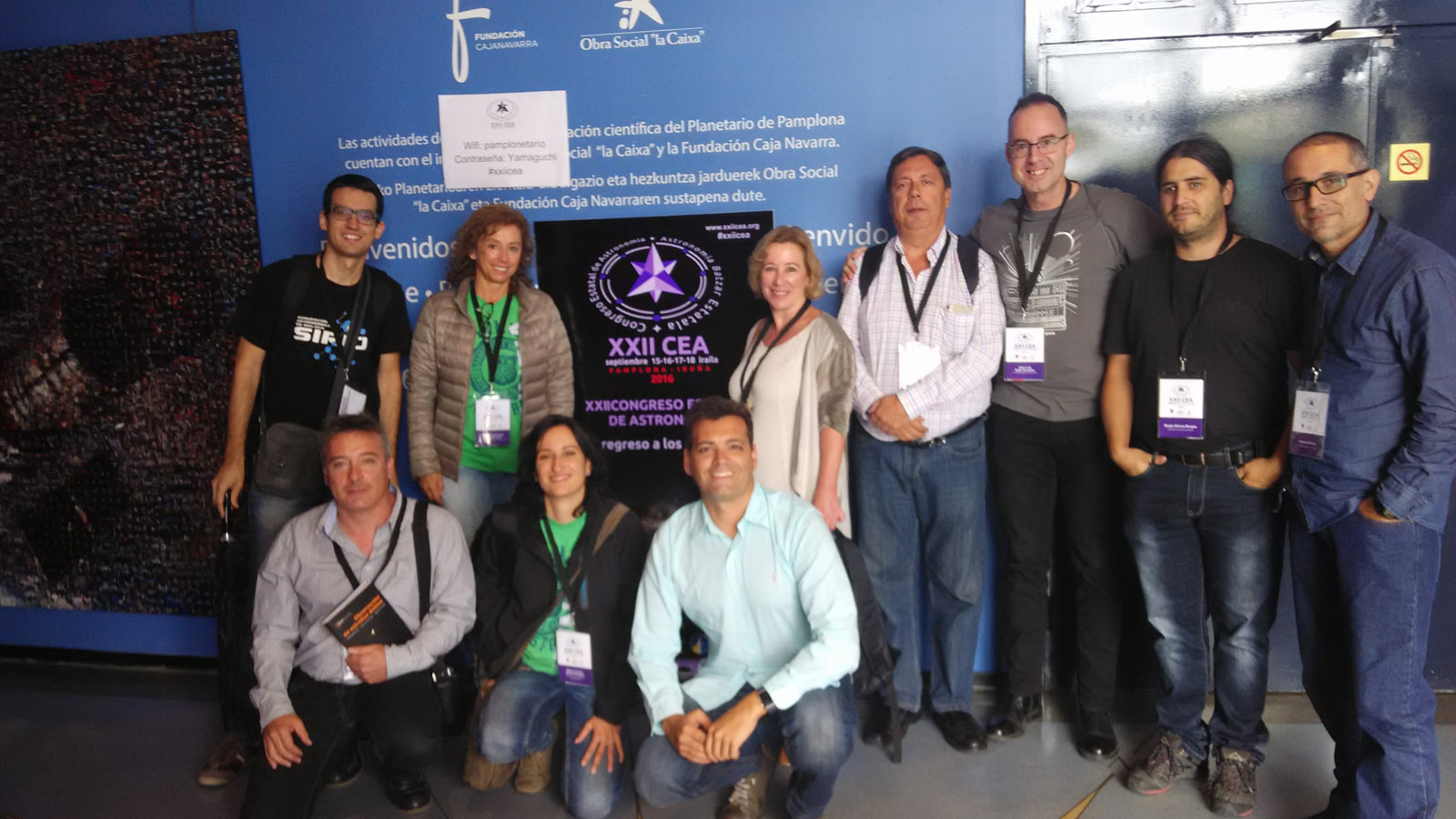 Foto de mini-grupo andaluz del XXII CEA.