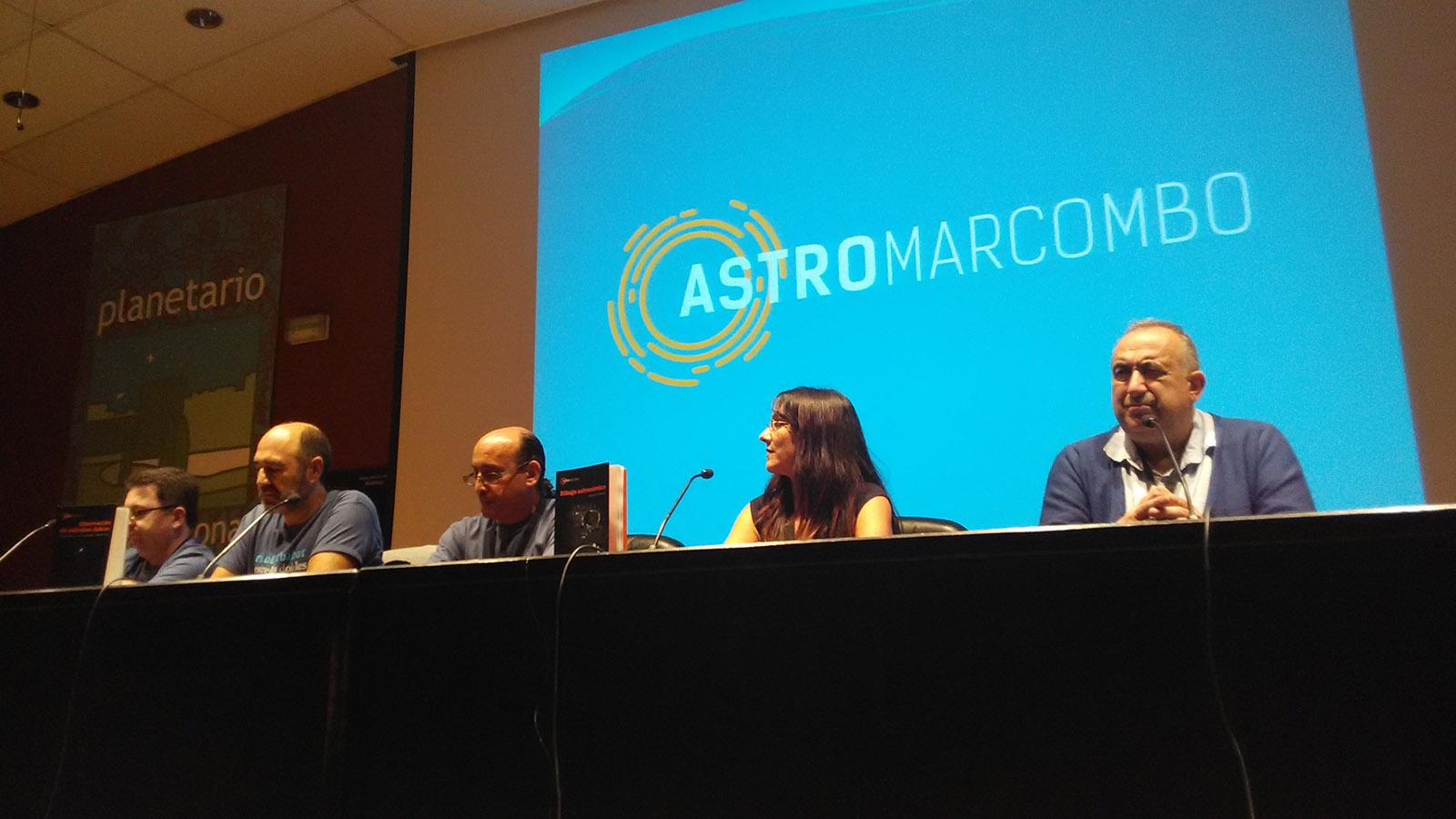 Presentación de los libros de la colección de AstroMarcombo.