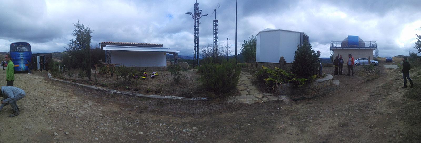Panorámica del Observatorio Astronómico de Guirguillano.