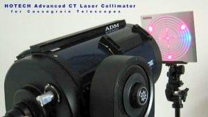 Ejemplo de uso del Colimador Láser Avanzado HOTECH CT
